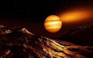 Jupitar Glow wallpapers and stock photos