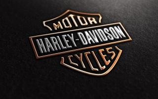 Harley Davidson Logo wallpapers and stock photos
