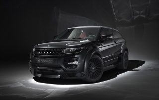 2013 Hamann Range Rover Evoque Studio Front Angle wallpapers and stock photos