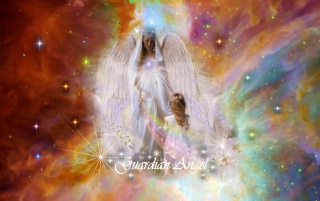 Guardian Angel wording wallpapers and stock photos