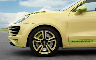 2012 TopCar Porsche Cayenne Vantage 2 Lemon Section wallpapers and stock photos