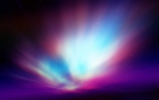 Next: Violet and Blue Aurora
