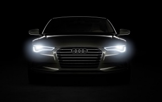 Random: Audi Headlights