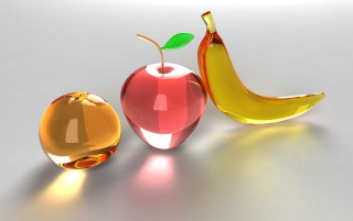 Glass fruits wallpapers and stock photos