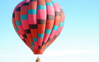 Colored Hot Air Balloon wallpapers and stock photos