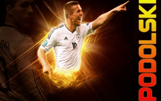 Lukas Podolski wallpapers and stock photos