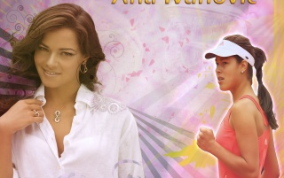Ana Ivanovic wallpapers and stock photos