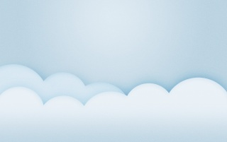 Light Blue Minimalistic Clouds wallpapers and stock photos