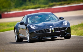 2012 Fisker Karma Geschwindigkeit wallpapers and stock photos