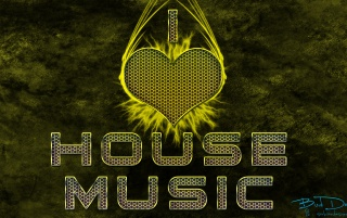 I love house music wallpapers and stock photos