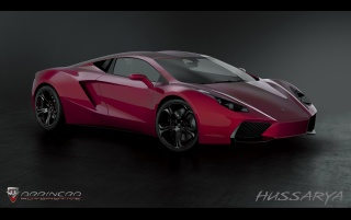 2013 Arrinera Hussarya ángulo lateral wallpapers and stock photos