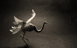 Crane Origami wallpapers and stock photos
