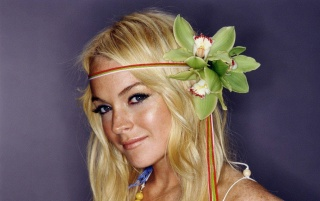 Lindsay Lohan Orchids wallpapers and stock photos