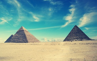 Egyptian Pyramids wallpapers and stock photos
