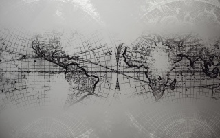 World Map Grayscale wallpapers and stock photos