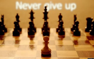 Never Give Up wallpapers and stock photos