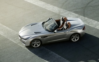 2012 BMW Zagato Roadster Top Static wallpapers and stock photos