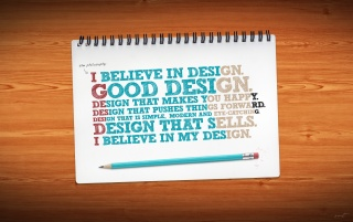 Next: I Believe in Design