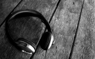 Headphones on the Floor wallpapers and stock photos