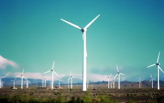 Wind Park wallpapers and stock photos