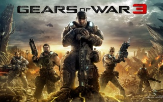 2011 Gears of War 3 wallpapers and stock photos