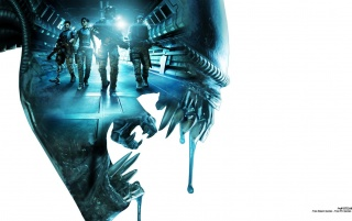 2013 Aliens Colonial Marines G wallpapers and stock photos