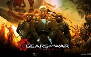 2013 Gears of War Gam Juicio wallpapers and stock photos
