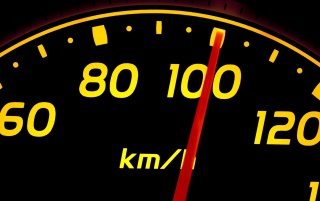 Random: Yellow Speedometer