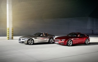 2012 BMW Zagato Roadster Duo Speed wallpapers and stock photos