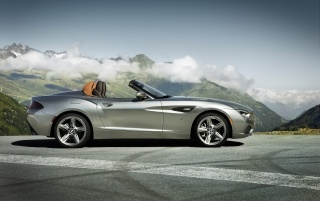 2012 BMW Zagato Roadster Static Side wallpapers and stock photos