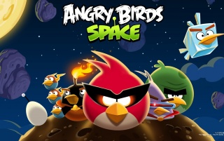 Angry Birds Space Game wallpapers and stock photos
