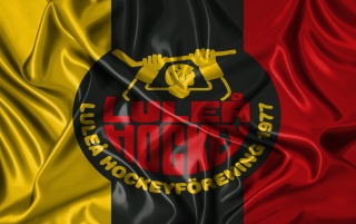 Lulea Hockey steelman logo v3 wallpapers and stock photos