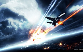 Battlefield 3 Jets wallpapers and stock photos