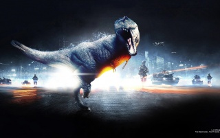 Battlefield 3 Dinosaur Mode wallpapers and stock photos