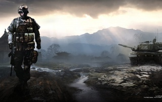 Battlefield 4 Spiel wallpapers and stock photos
