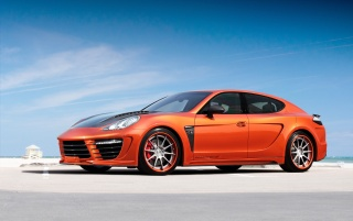 Previous: 2012 TopCar Porsche Panamera Stingray GTR Orange Static Side Angle