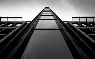 Monochrome Skyscraper wallpapers and stock photos