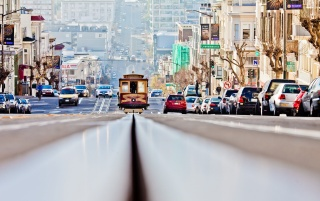 San Francisco Streets wallpapers and stock photos