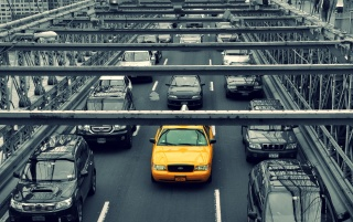 New York Yellow Cab wallpapers and stock photos