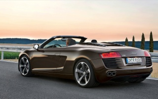 Next: Audi R8 Roadster Back Angle