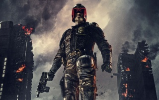Dredd 2012 wallpapers and stock photos