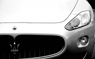 Maserati Grill Section wallpapers and stock photos