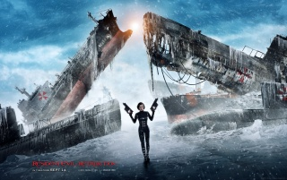 Alice - Resident Evil: Retribution wallpapers and stock photos
