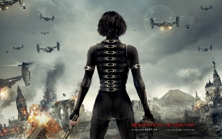 Resident Evil: Retribution Official wallpapers and stock photos