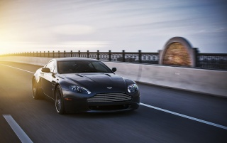 Black Aston Martin at Susnet wallpapers and stock photos