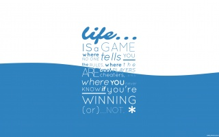 Life is a Game wallpapers and stock photos