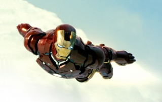 Random: Iron Man Flying