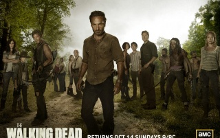 The Walking Dead Season 2 Cast wallpapers and stock photos