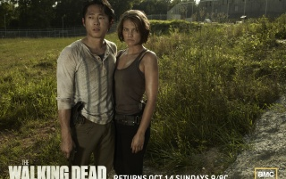 Glenn & Maggie wallpapers and stock photos