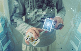 Futuristic Magician wallpapers and stock photos